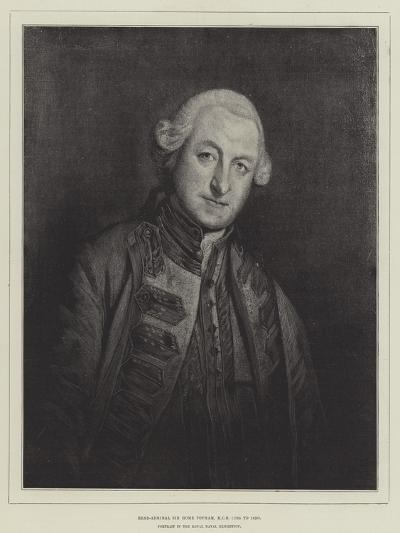 Rear-Admiral Sir Home Popham, Kcb, 1765 to 1820--Giclee Print