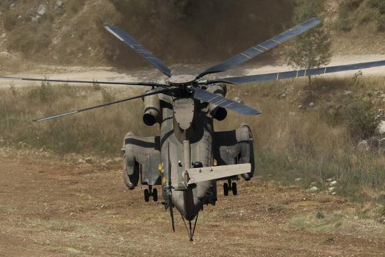 Rear View of an Israeli Air Force Ch-53 Yasur Helicopter-Stocktrek Images-Photographic Print