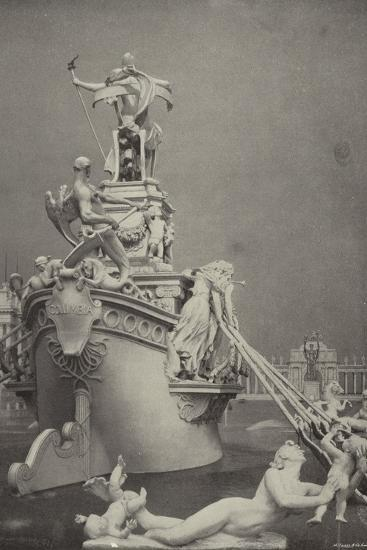 Rear View of the Barge of State--Photographic Print