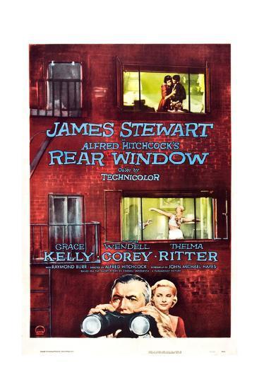 Rear Window, Grace Kelly, James Stewart, 1954--Giclee Print