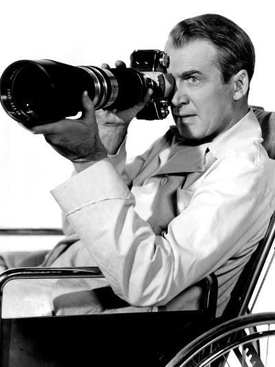 Rear Window, James Stewart, 1954--Photo