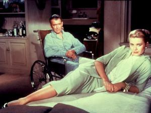 Rear Window, James Stewart, Grace Kelly, 1954