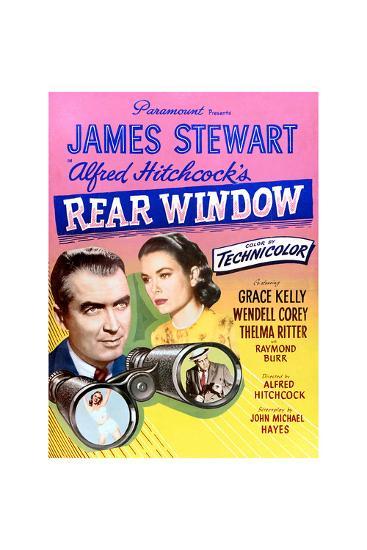 Rear Window--Art Print