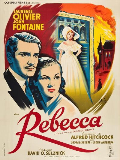 Rebecca, 1940, Directed by Alfred Hitchcock--Giclee Print