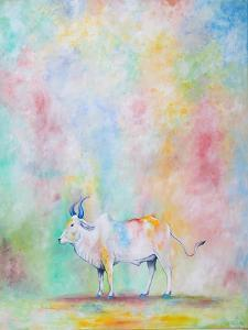 Holi Cow, 2014 by Rebecca Campbell