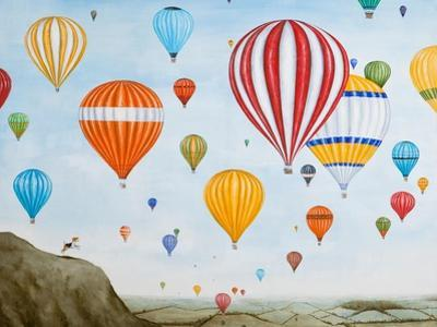 Hot Air Rises, 2012 by Rebecca Campbell