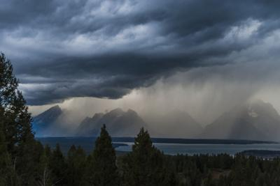 A Storm Near Grand Teton National Park, Wyoming