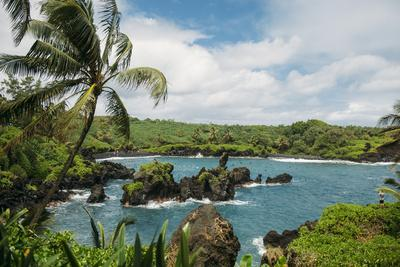 Wai'Anapanapa State Park In Hana, Maui, Hawaii