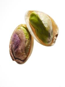A Halved Pistachio Nut by Rebecca Hale