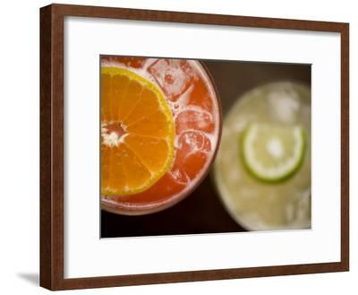 Refreshing Orange and Lime Cocktails