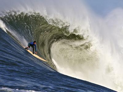 Mavericks Surf Competition 2010, Half Moon Bay, California, Usa