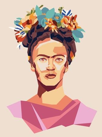 Frida Print by Rebecca Lane