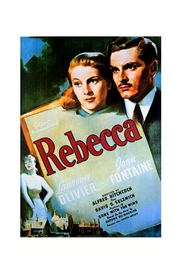 Rebecca - Movie Poster Reproduction--Art Print