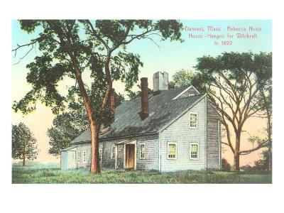 Rebecca Nurse House, Hanged for Witchcraft in 1692, Danvers, Mass--Art Print