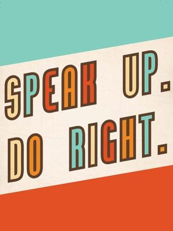 Speak Up by Rebecca Peragine