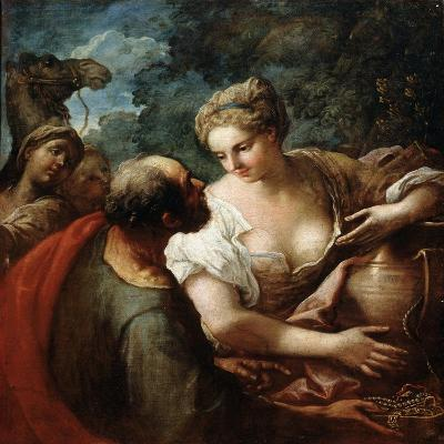 Rebekah at the Well, 16th Century-Titian (Tiziano Vecelli)-Giclee Print
