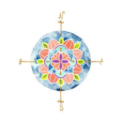 Blue Mandala I