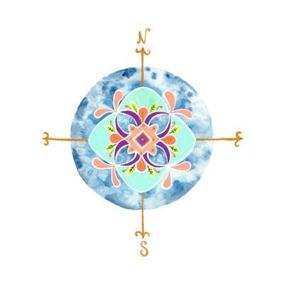 Blue Mandala II