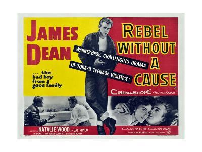 Rebel Without a Cause, 1955, Directed by Nicholas Ray--Giclee Print