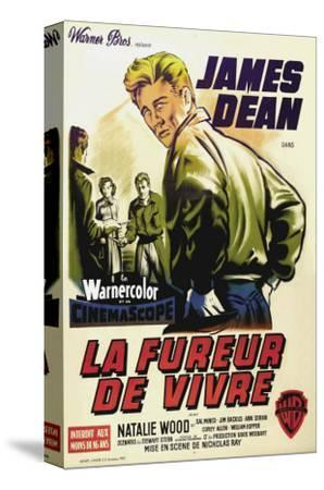 Rebel Without a Cause, French Movie Poster, 1955