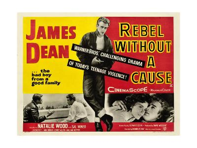 Rebel Without a Cause, James Dean (Center), 1955--Giclee Print