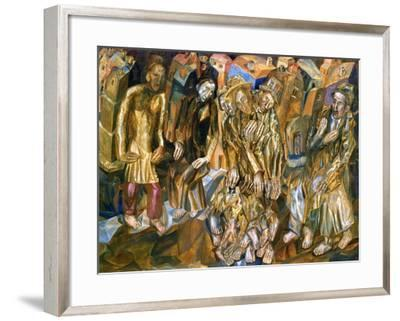 Rebirth of the People-Pavel Nikolayevich Filonov-Framed Giclee Print