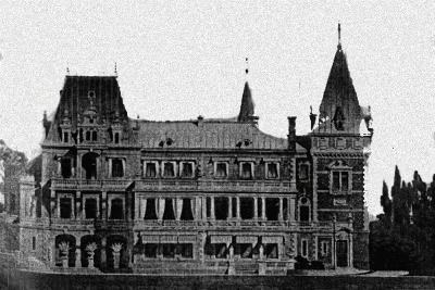 Rebuilding Project of the Massandra Palace by M. Messmacher, 1889--Giclee Print