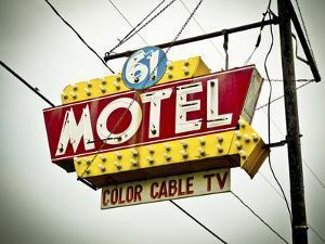 Vintage Motel V by Recapturist