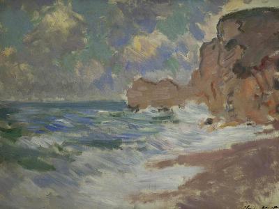 Receding Waves, Effets de Vagues a Etretat Ocean-Claude Monet-Giclee Print