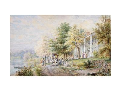 Receiving Guests-Henry Edward Lamson		-Giclee Print