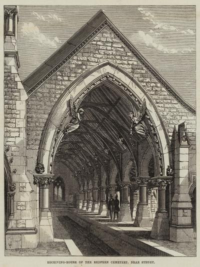 Receiving-House of the Redfern Cemetery, Near Sydney--Giclee Print