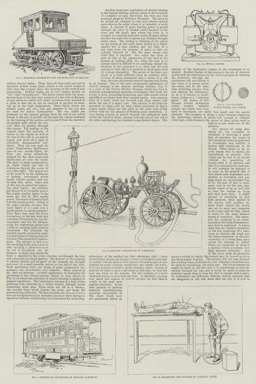 Recent Developments of Electricity as an Industrial Art--Giclee Print