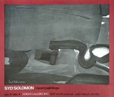Recent Paintings-Syd Solomon-Art Print