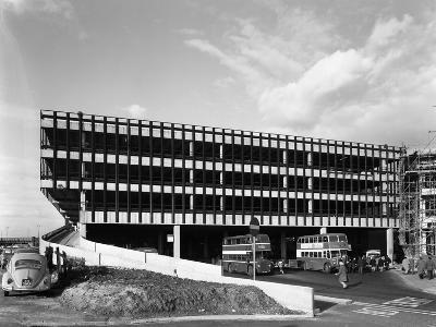 Recently Completed Doncaster North Bus Station, South Yorkshire, 1967-Michael Walters-Photographic Print