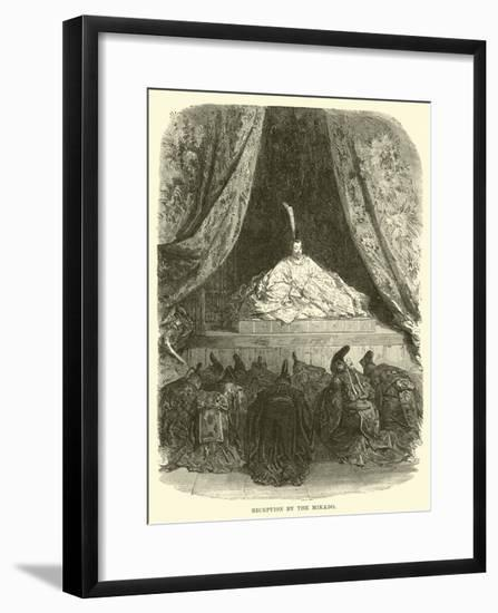 Reception by the Mikado--Framed Giclee Print
