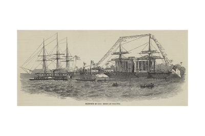 Reception of Lord Gough at Calcutta--Giclee Print