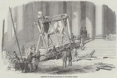 Reception of Nineveh Sculptures at the British Museum--Giclee Print