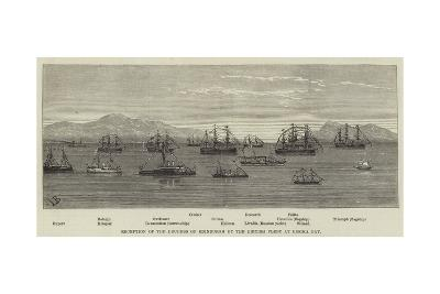 Reception of the Duchess of Edinburgh by the British Fleet at Besika Bay--Giclee Print