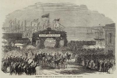 Reception of the Duke of Edinburgh at Auckland, New Zealand--Giclee Print