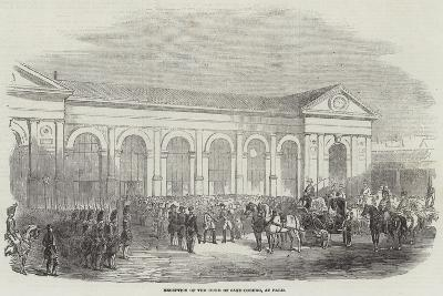 Reception of the Duke of Saxe-Coburg, at Paris--Giclee Print