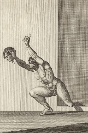 Rechab with the Head of Ish-Bosheth-Henry Fuseli-Giclee Print
