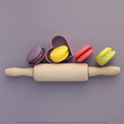 Recipe of Macarons-Amelie Vuillon-Art Print