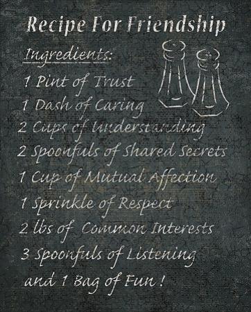 Recipes for Life I