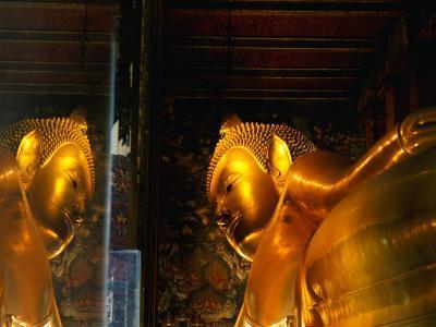 Reclining Buddha at Wat Pho, Bangkok, Thailand-Ryan Fox-Photographic Print