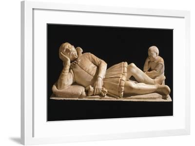 Reclining Figure-Michelangelo Naccherino-Framed Giclee Print