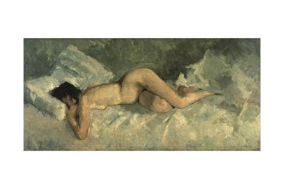 Reclining Nude, Ca 1887-George Hendrik Breitner-Giclee Print