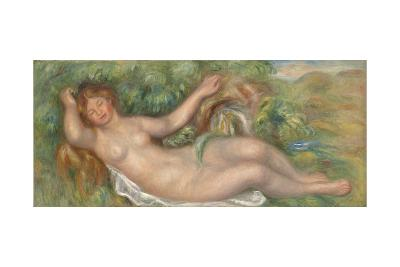 Reclining Nude; La Source, 1902-Pierre-Auguste Renoir-Giclee Print