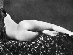 Reclining Nude: Rear View
