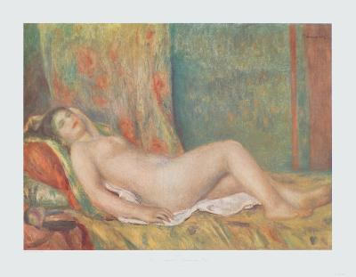 Reclining Nude-Pierre-Auguste Renoir-Collectable Print