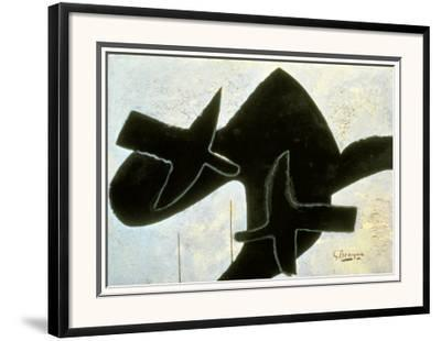 Reclining Nude-Georges Braque-Framed Giclee Print